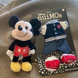 Mickey Mouse NuiMOs w/ Wardrobe essentia